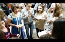 Embedded thumbnail for Праздничный фейерверк в Библионочь
